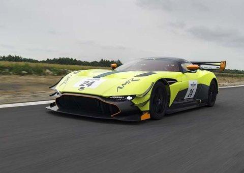 The Aston Martin Vulcan AMR Pro