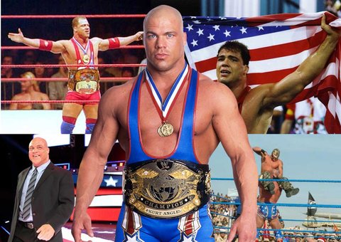 Kurt Angle is back in action