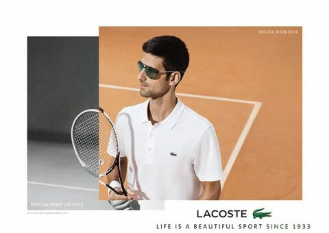 Lacoste's latest advertising campaign