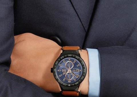 The TAG Heuer Connected Modular 45 Kingsman Special Edition