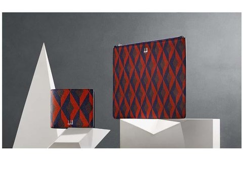 The new dunhill Cadogan Engine Turn leather collection