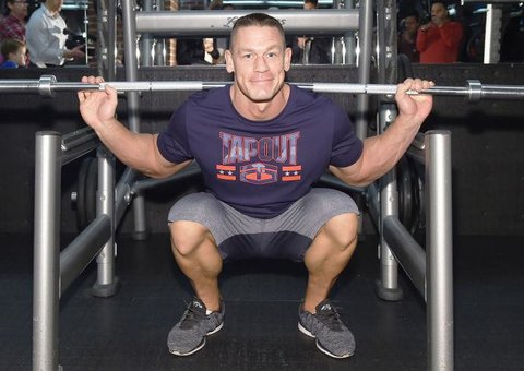 John Cena has some practical fitness tips that we can all use