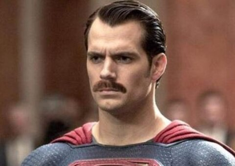Superman's $25 million moustache