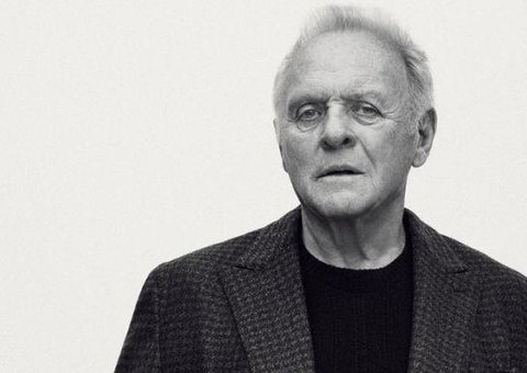 Sir Anthony Hopkins is the new face of Brioni