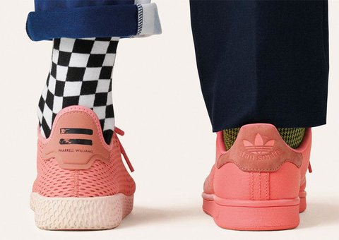 The new Pharrell-ized Stan Smiths
