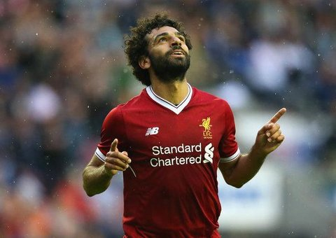 Liverpool's star forward Mo Salah is the new face of Oppo