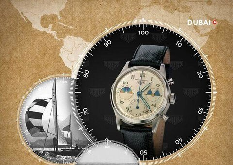 TAG Heuer presents the Heuer Globetrotter exhibition