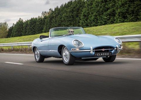 Jaguar resurrects the E-type