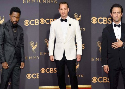 Best-dressed men at the Emmy's last night