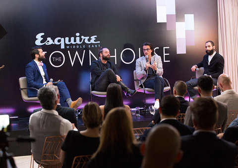 Discussing the arts at Esquire Townhouse