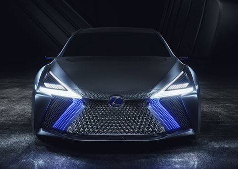 The Lexus LS+ Concept car is designed to drive itself | Esquire Motors