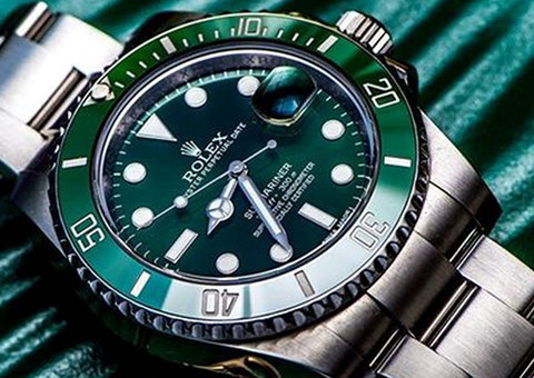 Green is the new black in watch design
