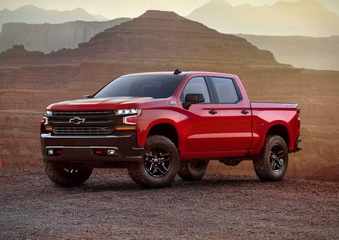 The new Chevrolet Silverado is not small