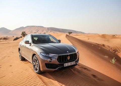 Maserati Levante: Power and poise