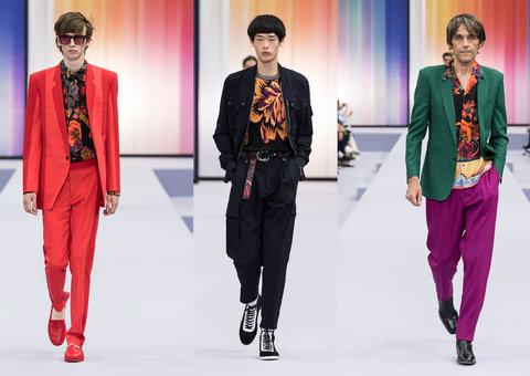 Check out Paul Smith's Spring/Summer 2018 collection
