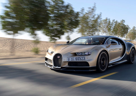 What it's like to drive the fastest road car in the world