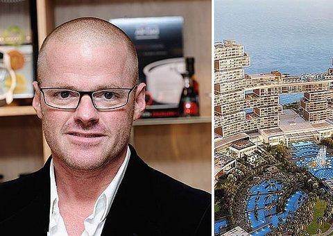 Interview with Heston Blumenthal: Dubai's newest celebrity chef