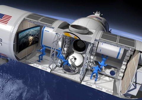 Introducing the first ever luxury space hotel