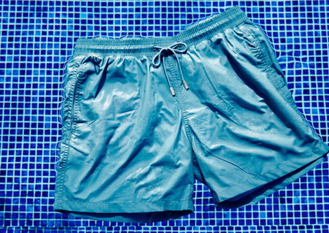 These swim shorts help reduce ocean pollution