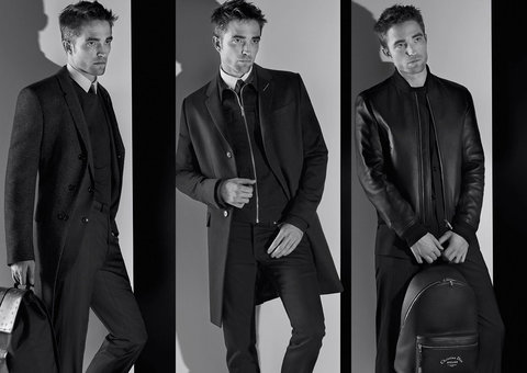 Dior Homme enlists Robert Pattinson and Karl Lagerfeld's camera for new campaign