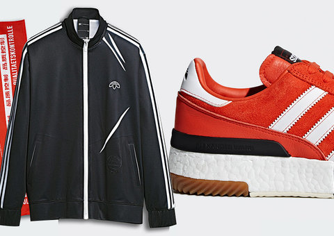 Adidas Origianls x Alexander Wang is sportswear with attitude