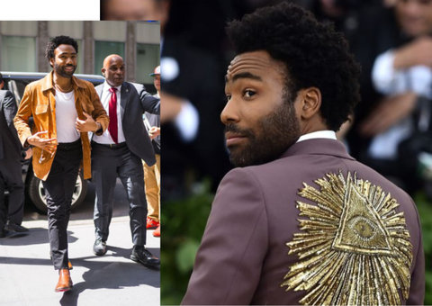 The secret to Donald Glover's eclectic style