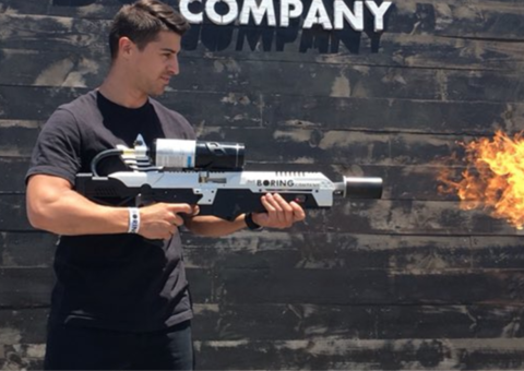 People have begun picking up Elon Musk's flamethrowers