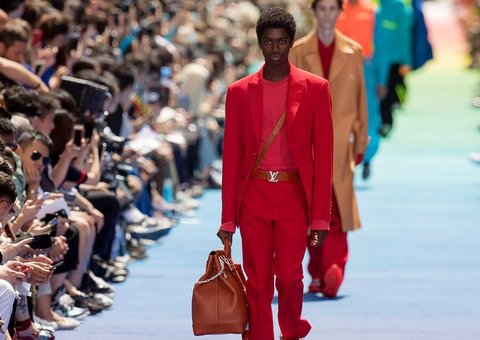 Every look from Virgil Abloh's First Louis Vuitton Show