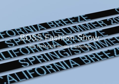 Watch: Boss spring/summer 19 show live