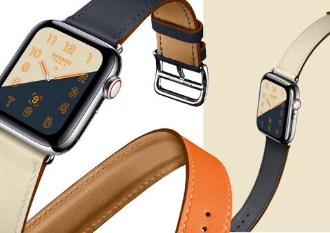 The new Apple Watch Hermès Series 4 is pretty