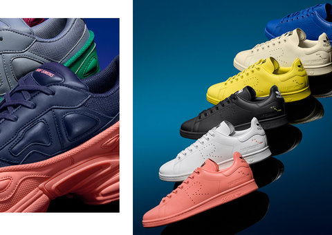 Raf Simmons is back for another Adidas collaboration