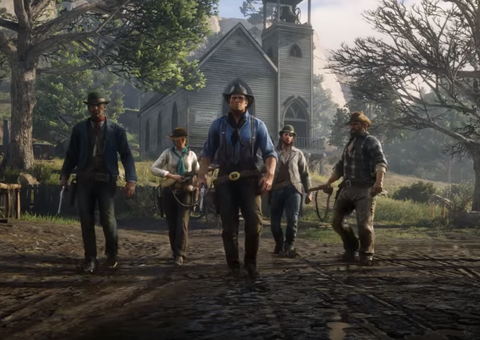 When will 'Red Dead Redemption 2' Online launch?