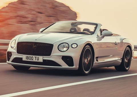 The Bentley Continental GT Convertible is here