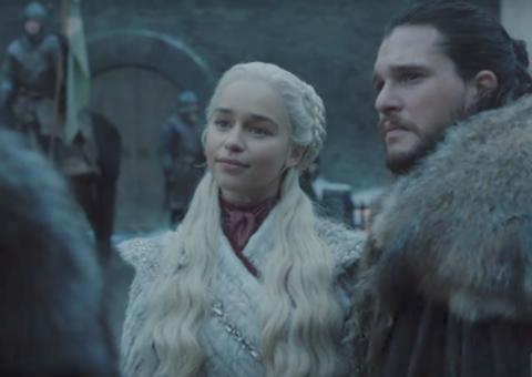 When Sansa met Daenaerys: First official look at Game of Thrones' final season