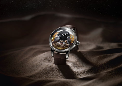 Jaquet Droz unveils one-of-a-kind Dhs 2 million UAE watch