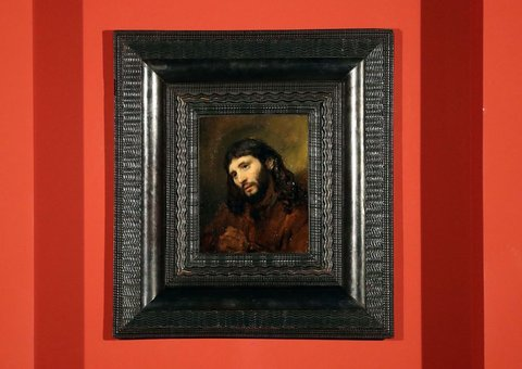 Louvre Abu Dhabi exhibits rare Rembrandt artwork