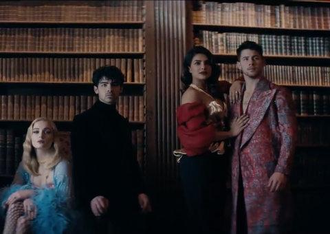 The Jonas Brothers' new video marks their return with Priyanka Chopra and Sansa Stark