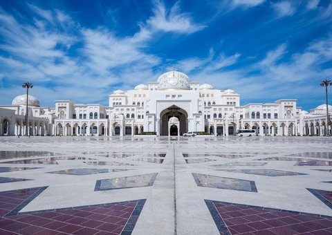 In pictures: Abu Dhabi Presidential Palace