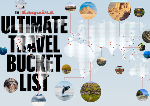 Travel Bucket List Ideas: 100 things to do before you die