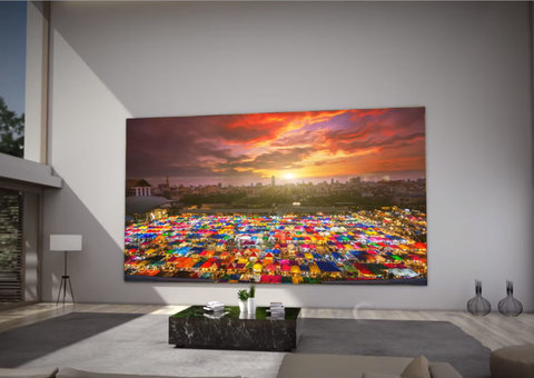 This Samsung TV is bigger than a double-decker bus