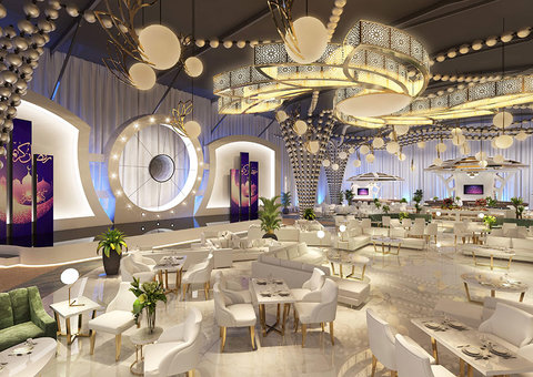 The Dana Tent: inside Dubai's most extravagant Iftar