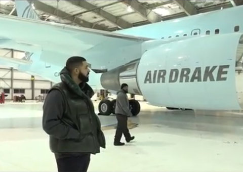 Drake's US$185 million aircraft is getting a makeover from Off-White's Virgil Abloh