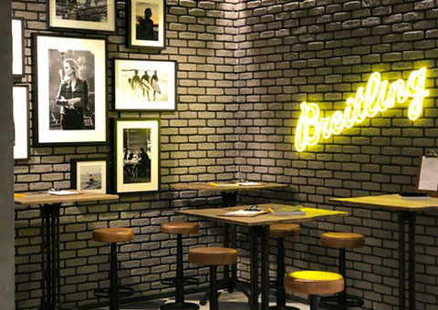 Breitling unwraps new boutique concept that's all about coffee
