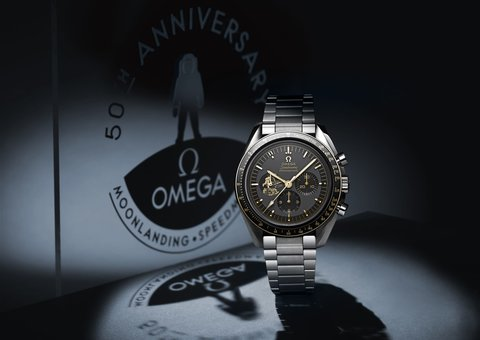 Omega launches second Apollo 11 Speedmaster Limited Edition