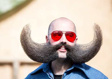 Best images from World Beard and Moustache Championships 2019