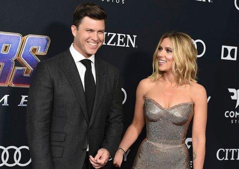 Scarlett Johansson is getting married to Colin Jost