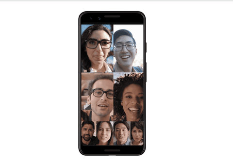Google Duo lets you group video chat with 8 people