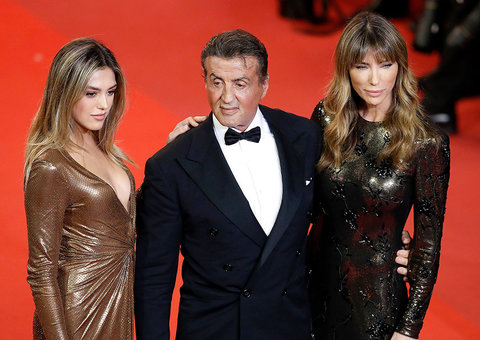 Stallone teases Rambo V at Cannes