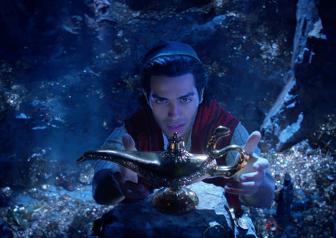 Aladdin smashes US$105m opening box office weekend