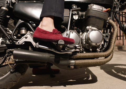 Tod's celebrates its iconic driving shoe in new 'My Ride' series